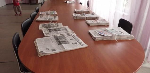 Der Blick in die Zeitung