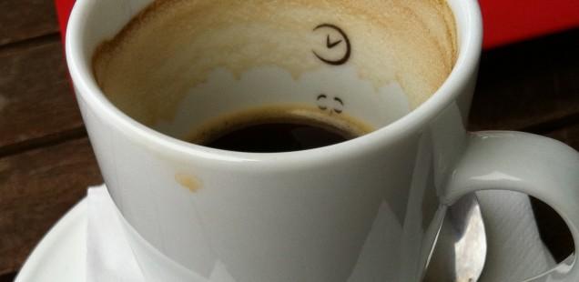 Mal wieder auf eine Tasse Kaffee