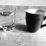 Der Kaffee- und der Wassertrinker