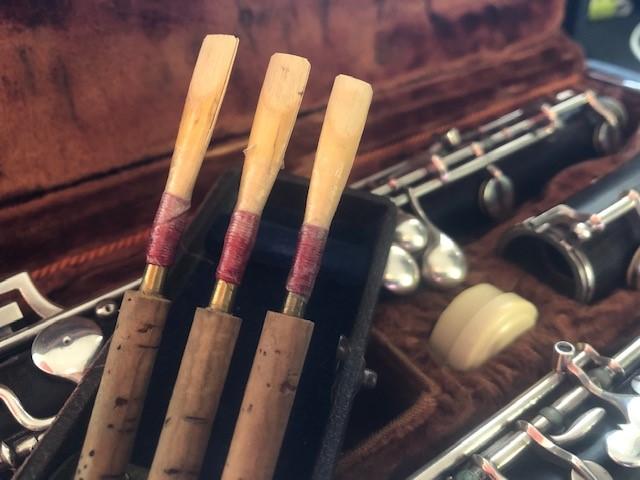 Die Oboe meines Vaters mit von ihm gebauten Rohren | Bild: Martin Dubberke