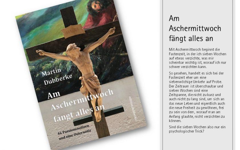 Buchcover - Am Aschermittwoch fängt alles an