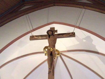 Kruzifix in der Johanneskirche in Partenkirchen | Bild: Martin Dubberke