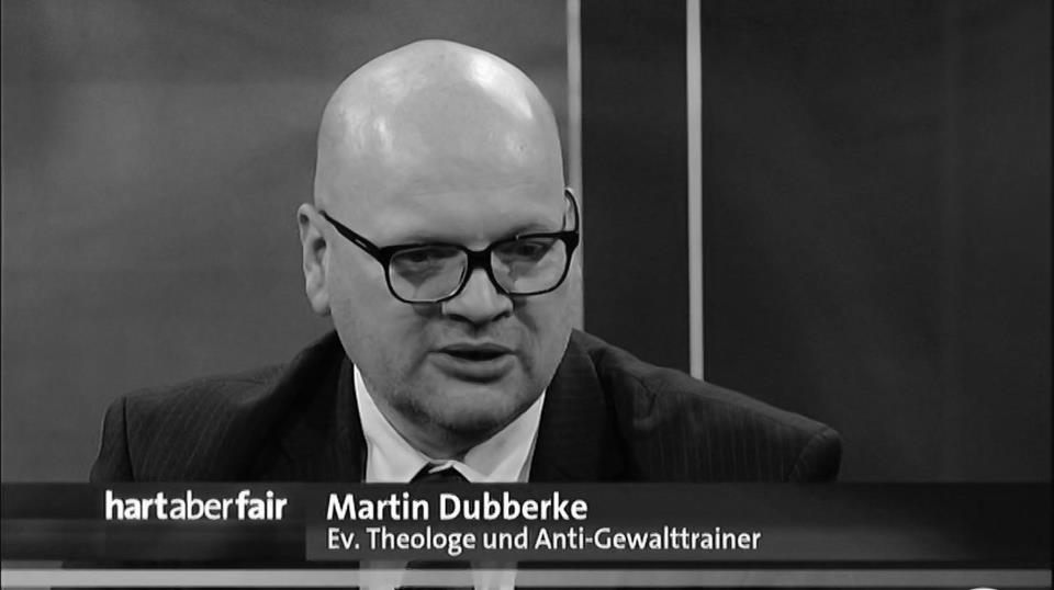 """Screenshot Martin Dubberke bei """"Hart aber Fair"""""""