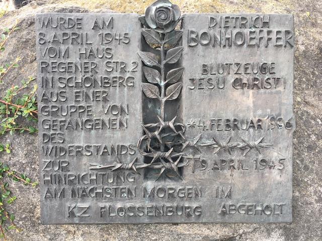 Dietrich Bonhoeffer in Schönberg ©Martin Dubberke